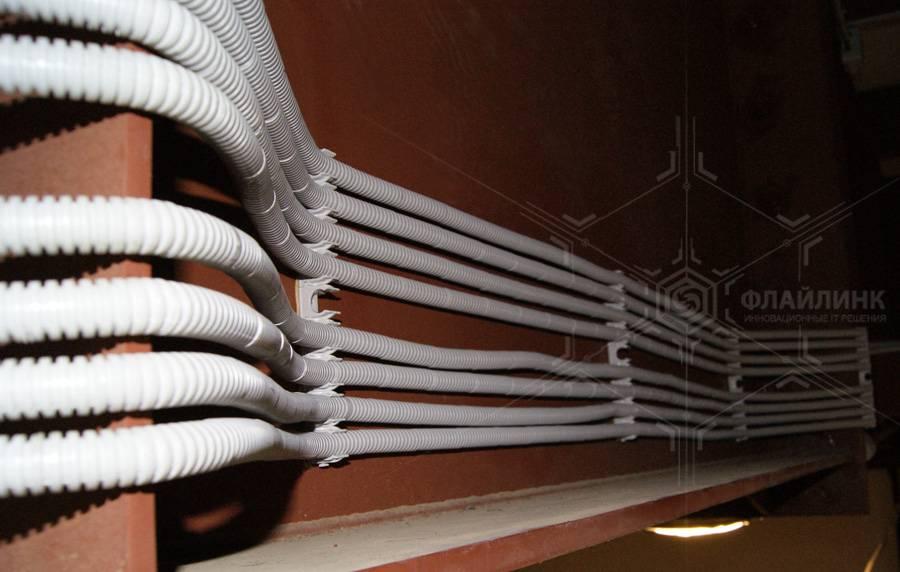 Гофра для электропроводки: назначение, виды + монтаж электропроводки в гофре