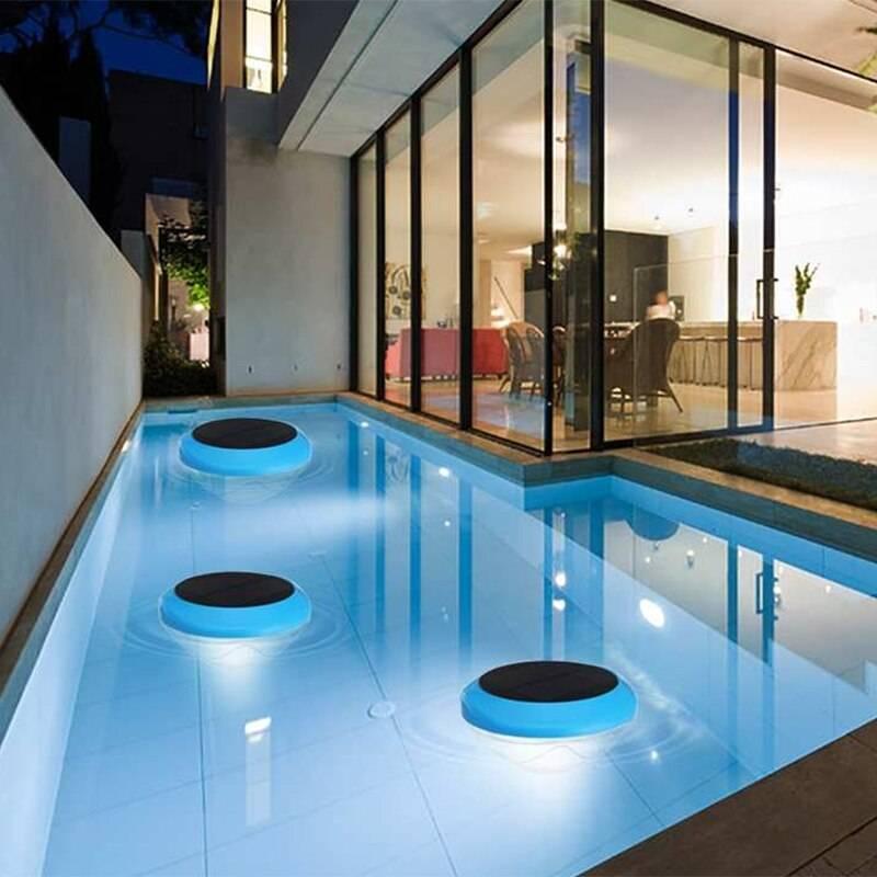 Освещение бассейна: нормы безопасности, выбор специфического оборудования, правила и особенности монтажа
