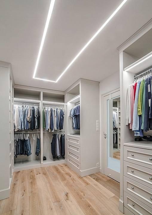 Подсветка шкафа / какое освещение лучше выбрать? фото.