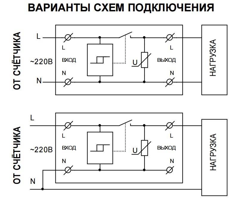 Устройства защиты УЗМ 51, 50 М