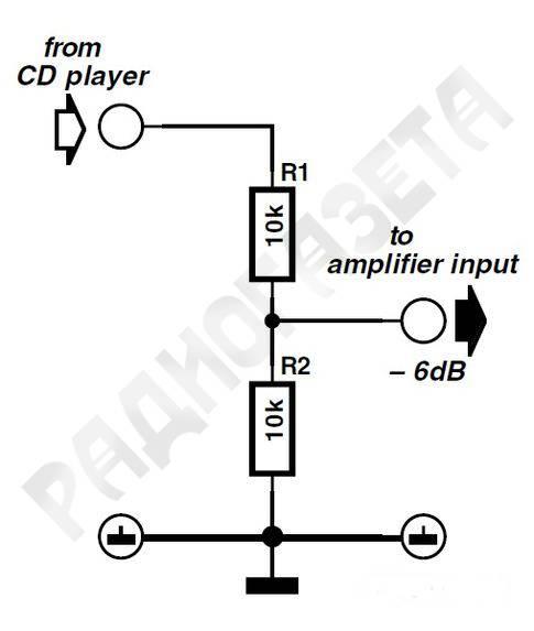 Аудио-аттенюатор или возвращение в 80-е « радиогазета – принципиальные схемы для меломанов и аудиофилов