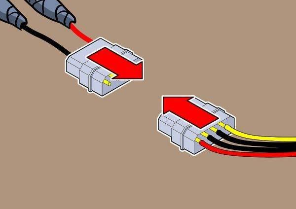 Как подключить светодиодную ленту к блоку питания от компьютера? - отопление