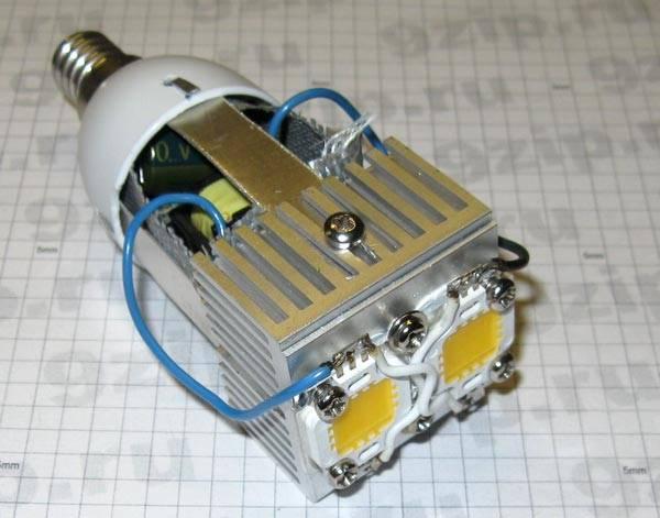 Как отремонтировать светодиодный прожектор с модернизацией