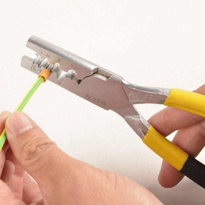 Гильзы для опрессовки проводов – виды, инструмент, ошибки