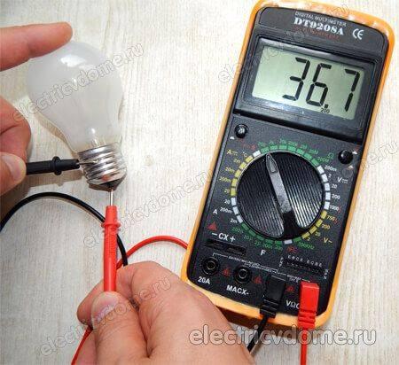 Как проверить автомобильную лампочку тестером своими руками