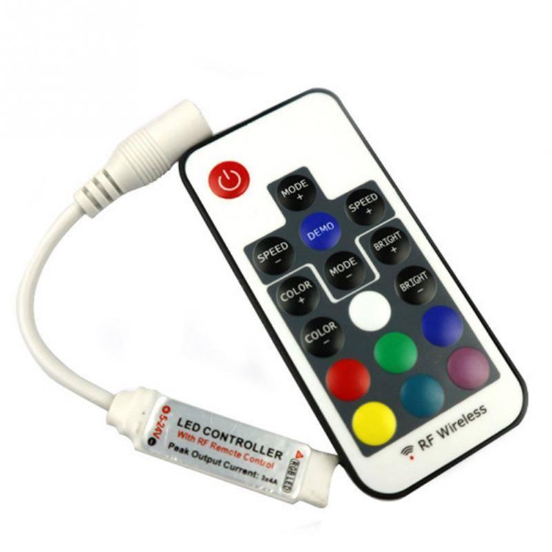 Подключение контроллера к светодиодной ленте.