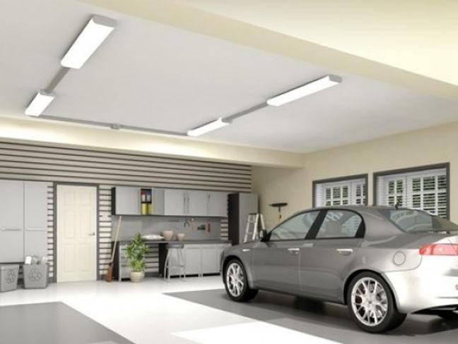 Выбор и установка светодиодных светильников для гаража