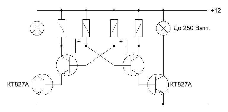 2 схемы автомобильного стробоскоп на светодиодах своими руками