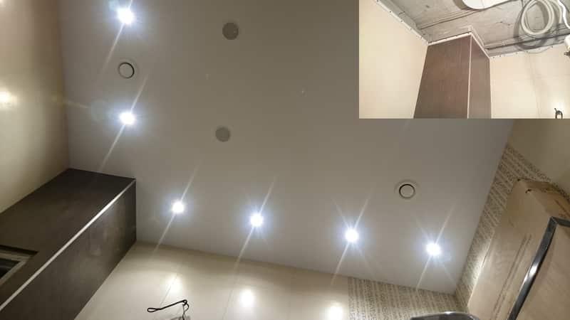 Расположение светильников на потолке: правила, схемы