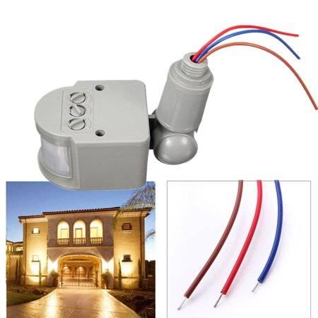 Выключатель с датчиком движения: как выбрать и установить выключатель света с датчиком