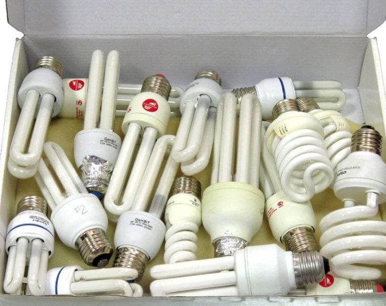 Все об утилизации люминесцентных и других типов ламп
