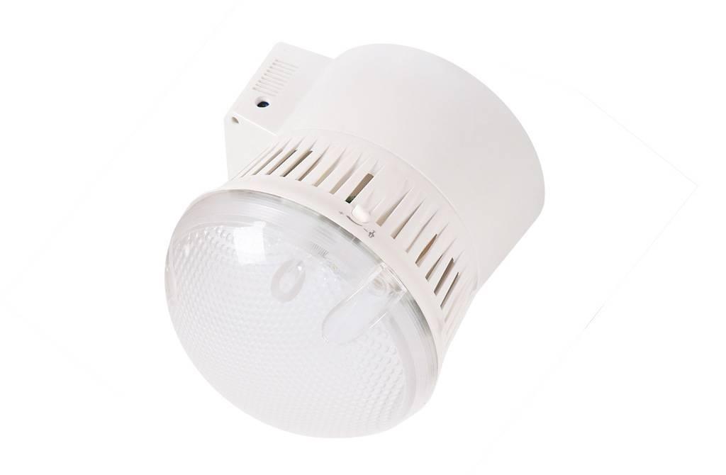 Тестируем светодиодный светильник для жкх с датчиком света