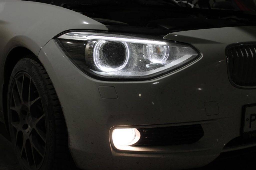 Можно ли ставить светодиодные лампы в фары головного света? какой штраф за led-светодиоды?