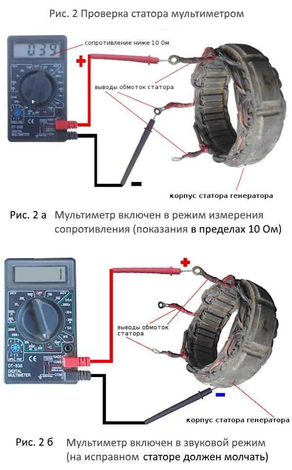Как прозвонить электродвигатель мультиметром - полезные советы