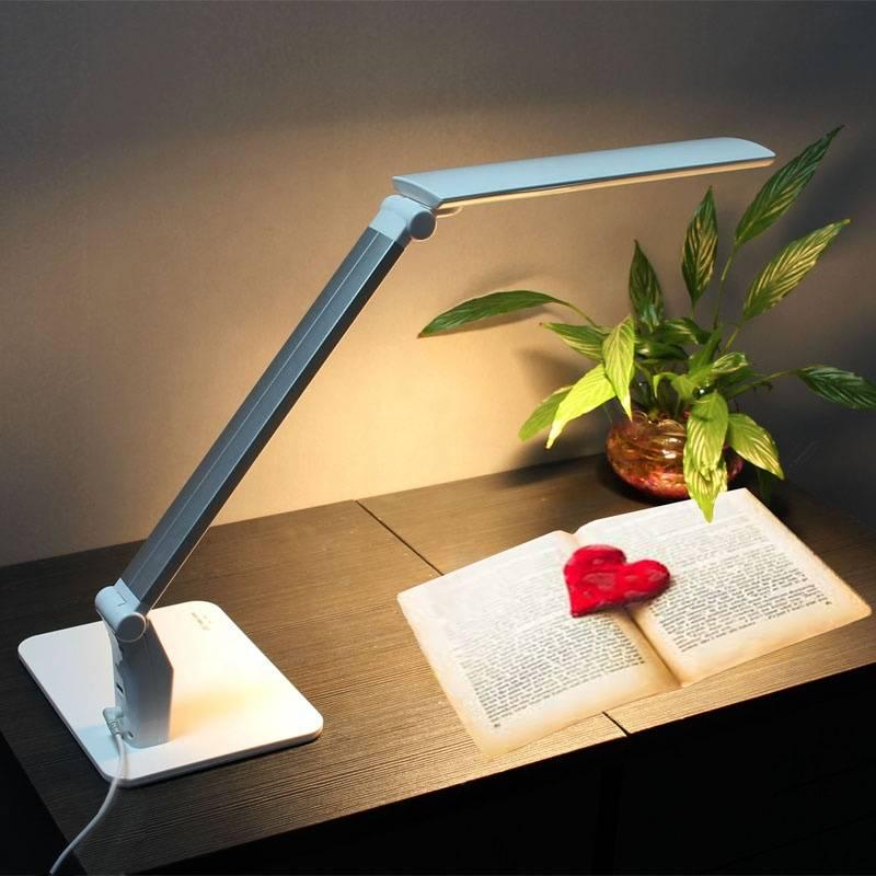 Как закрепить настольную лампу к столу - постройка