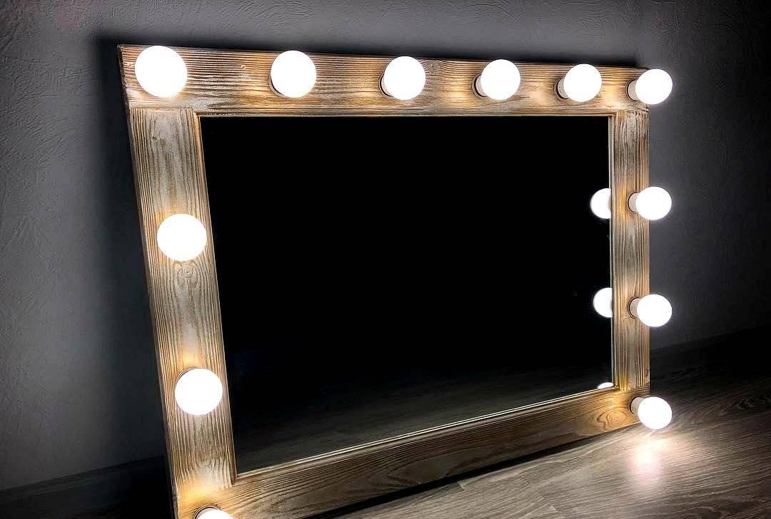 Обзор лампочек по-женски. гримерное зеркало с подсветкой своими руками.