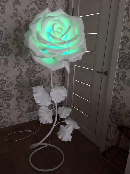 Светильник роза своими руками: топ-130 фото креативных решений создания светильника в домашних условиях + подробный мастер-класс для начинающих