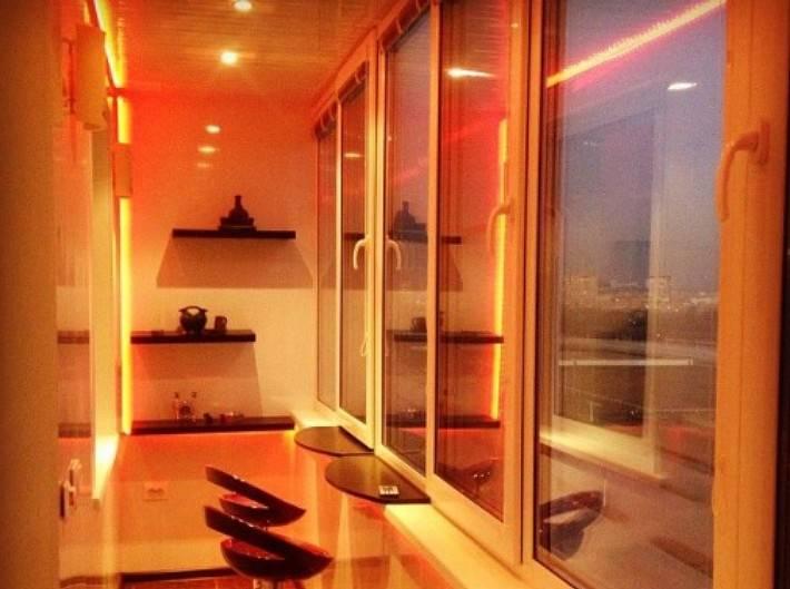Светильники на балкон и лоджию: идеи дизайна освещения с фото и видео примерами