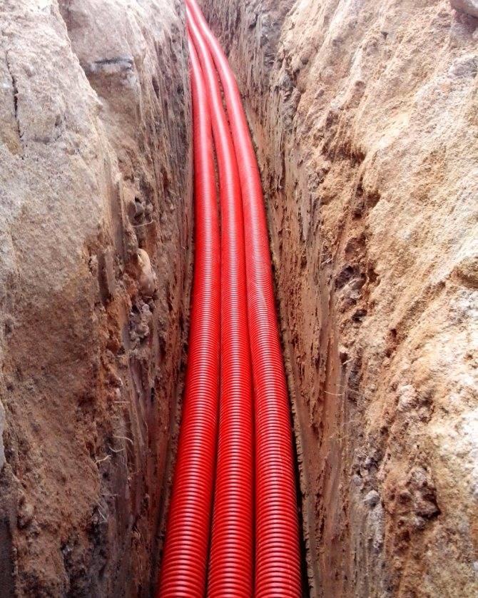 Прокладка кабеля в земле: особенности и нюансы процесса