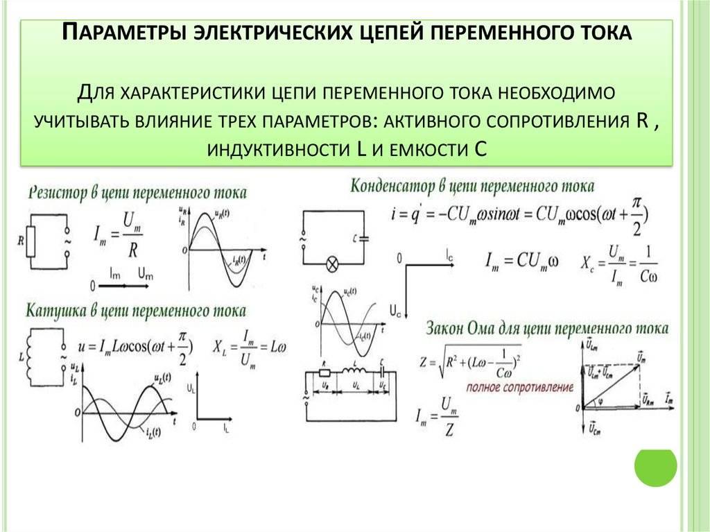 Ёмкостное сопротивление в цепи переменного тока: основные понятия, формула для расчёта