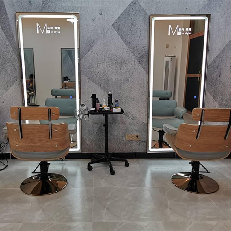 Освещение для салона красоты: какая должна быть подсветка парикмахерских зеркал