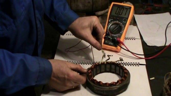 Сопротивление пусковой и рабочей обмотки однофазного двигателя – советы электрика