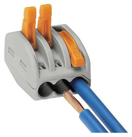 Соединение проводов с помощью зажимов: wago, типа орех, клеммники, сиз и другие