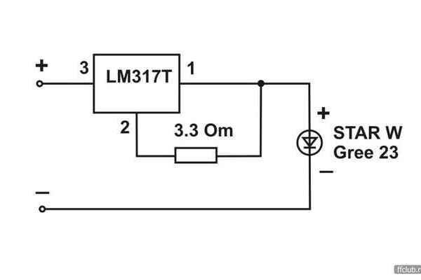 Lm317t характеристики: схема подключения стабилизатора тока