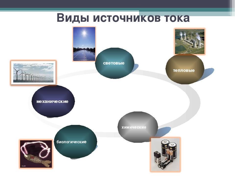 § 49. источники электрической энергии