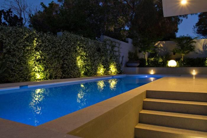 Освещение бассейна светодиодной лентой: фото, видео, схемы, способы
