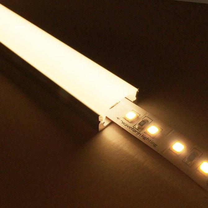 Подсветка потолка - лучшие варианты, монтаж своими руками!