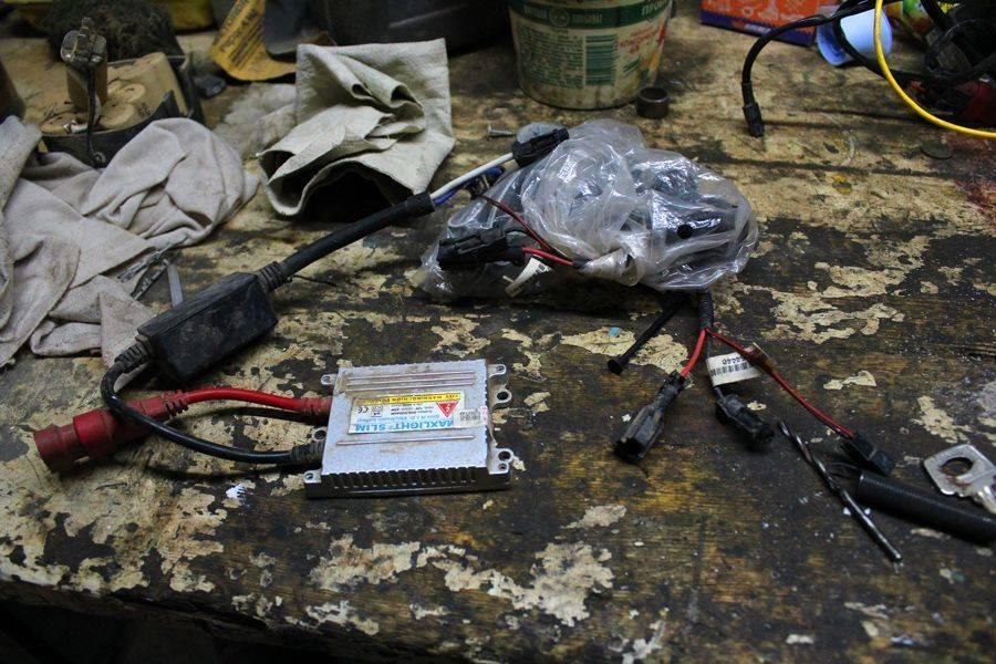 Блок розжига ксенона: устройство, проверка, ремонт + 6 моделей