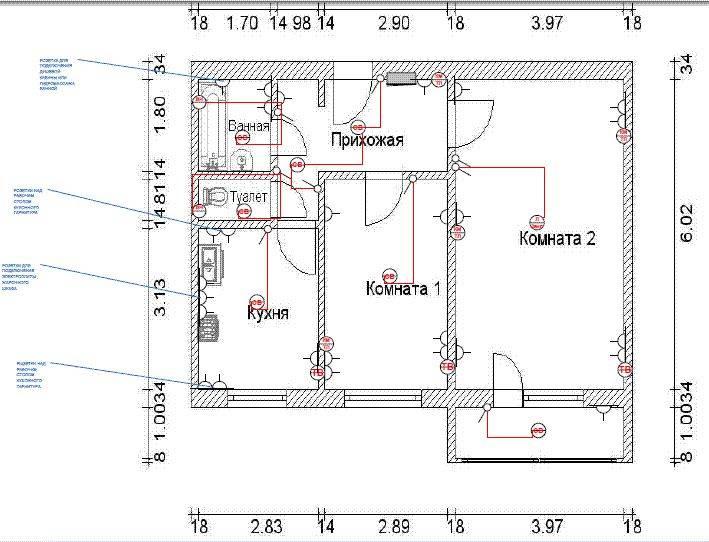 Полная замена старой электропроводки в панельном доме или квартире ценой минимальных усилий под ключ – самэлектрик.ру