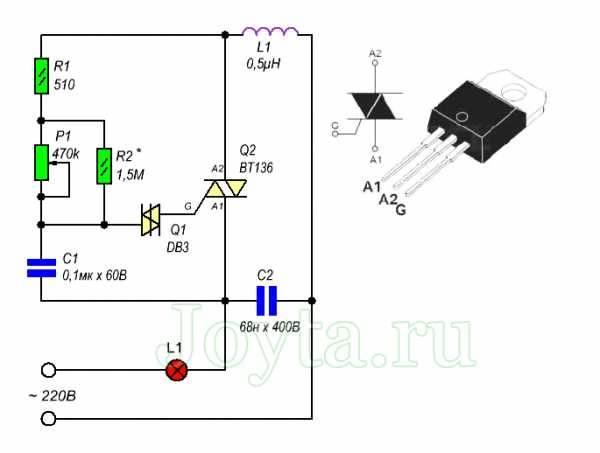 Диммер для ламп накаливания — схемы подключения, как выбрать и установить