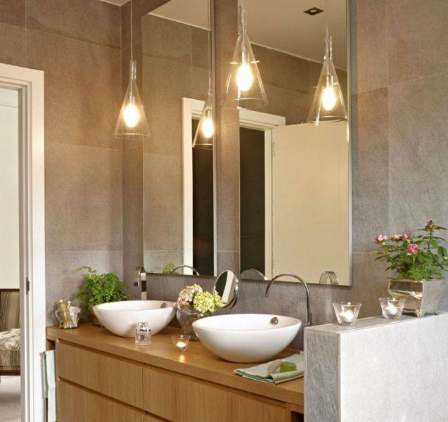 Какие светильники лучше для ванной комнаты