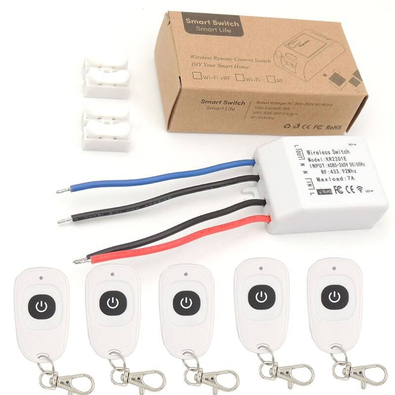 Как подобрать беспроводной выключатель света и его правильный монтаж своими руками в квартире или доме