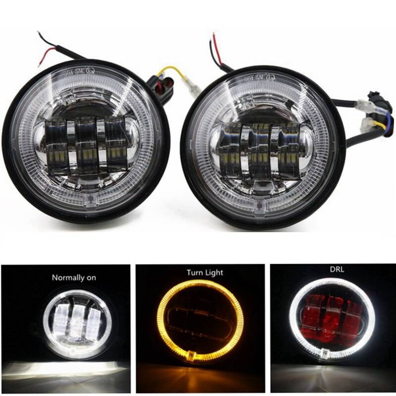 Противотуманные фары на светодиодах: лампы и готовые решения - led свет