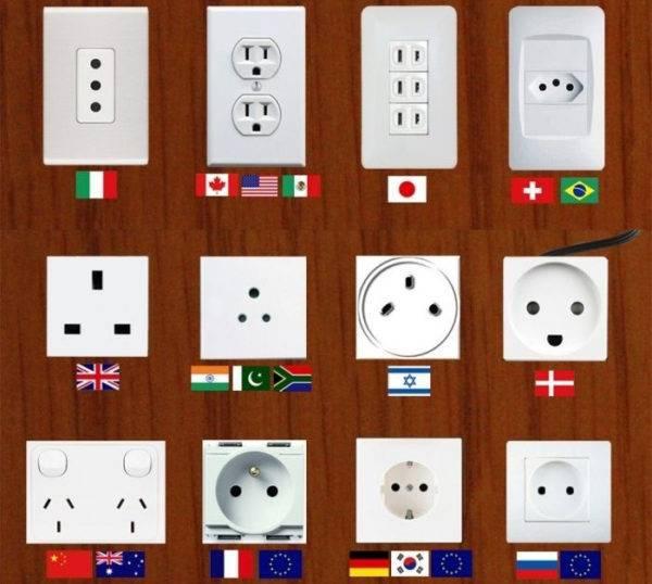 Электрическая розетка – какие бывают, рейтинг лучших производителей
