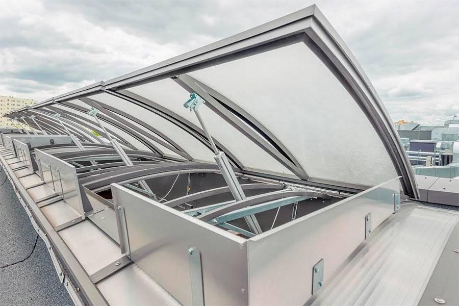 Зенитные фонари: для промышленных зданий, для дымоудаления