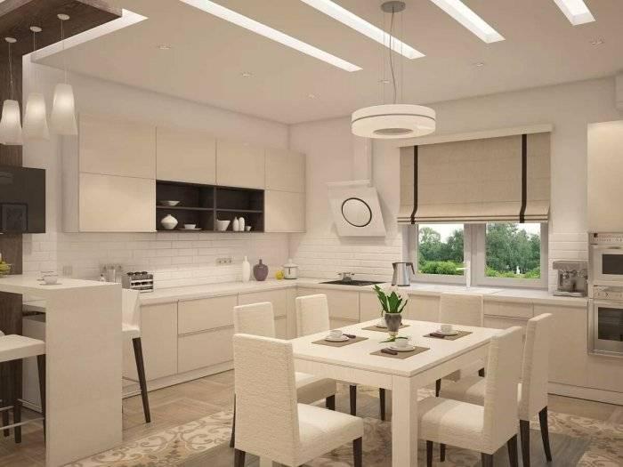 Кухня совмещенная с гостиной: 100 фото идей дизайна в квартире и доме