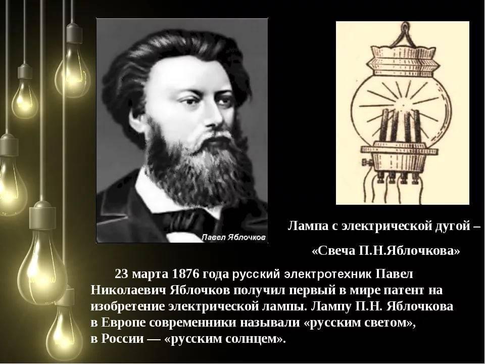 Когда появилась первая лампа накаливания? - блог о строительстве