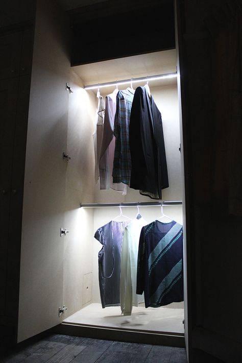 Как сделать подсветку в шкафу купе? - папа карло