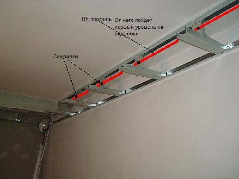 Подсветка на потолке из гипсокартона - всё о гипсокартоне