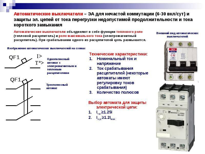 Неисправности автоматических выключателей - в помощь электрику