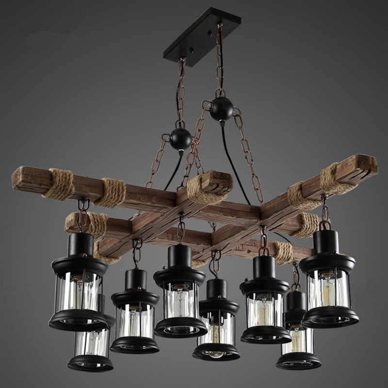 Правила выбора люстры для интерьера в стиле лофт и как создать светильники своими руками