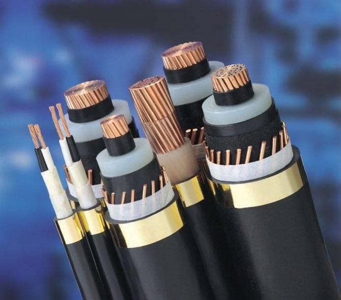 Марки кабеля с изоляцией из сшитого полиэтилена 0,4-6-10кв. отличие, характеристики, сечения.