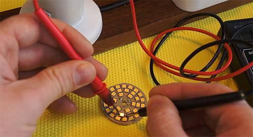 Как отремонтировать светодиодную лампочку на 220в своими руками?